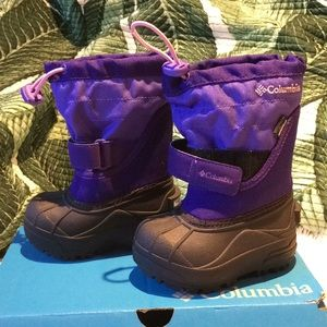 ⚡️Toddler Columbia Winter Boots